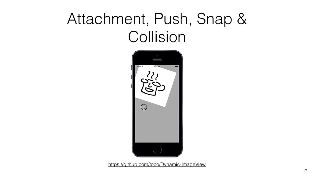 Attachment, Push, Snap & Collision !17 https://...