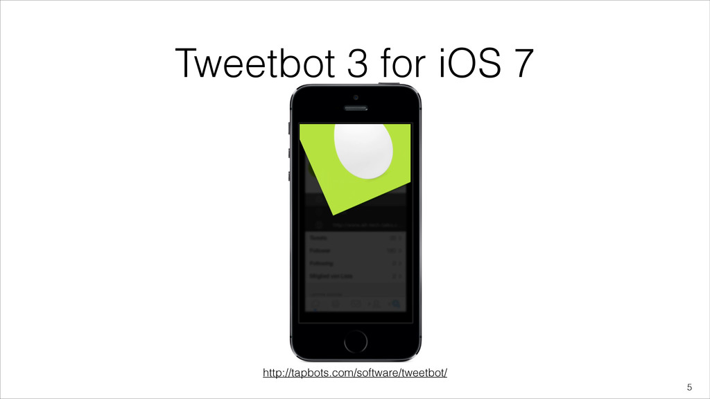 Tweetbot 3 for iOS 7 !5 http://tapbots.com/soft...