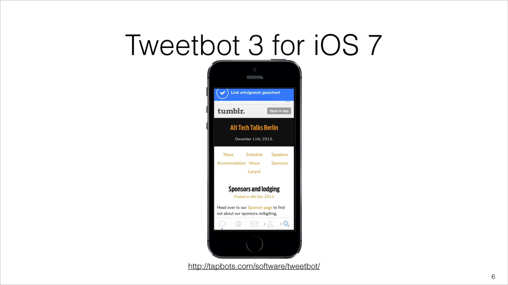 Tweetbot 3 for iOS 7 !6 http://tapbots.com/soft...