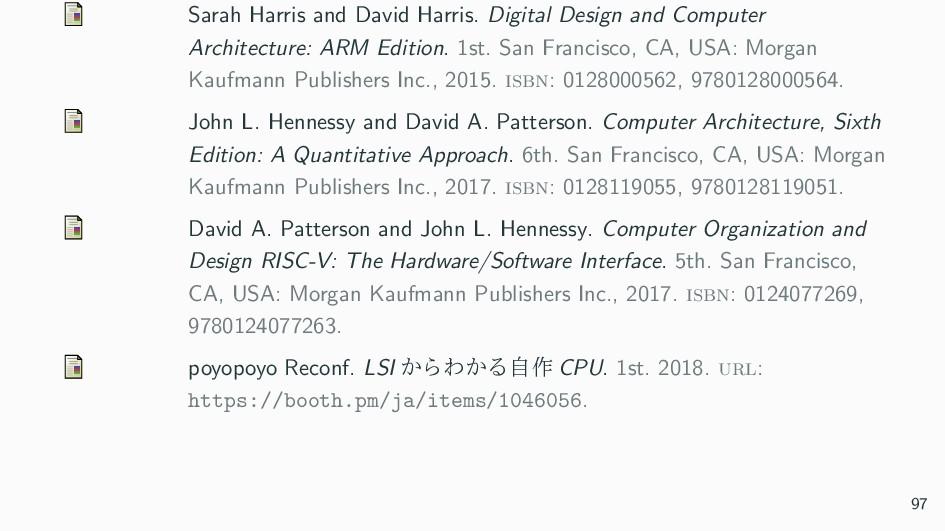 Sarah Harris and David Harris. Digital Design a...
