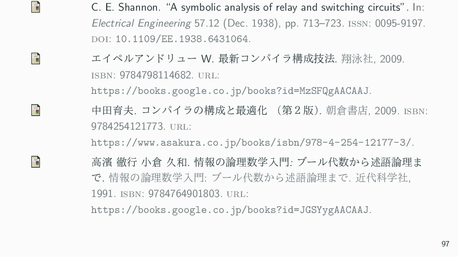 """C. E. Shannon. """"A symbolic analysis of relay an..."""