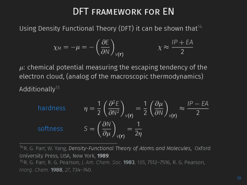 DFT framework for EN Using Density Functional T...