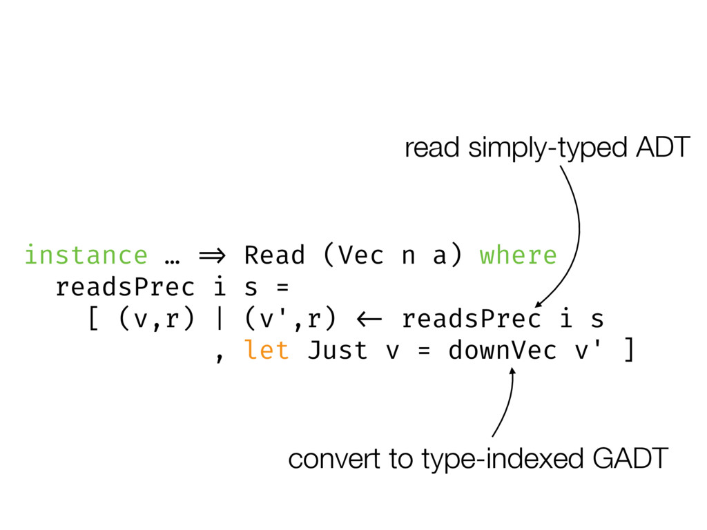 read simply-typed ADT convert to type-indexed G...