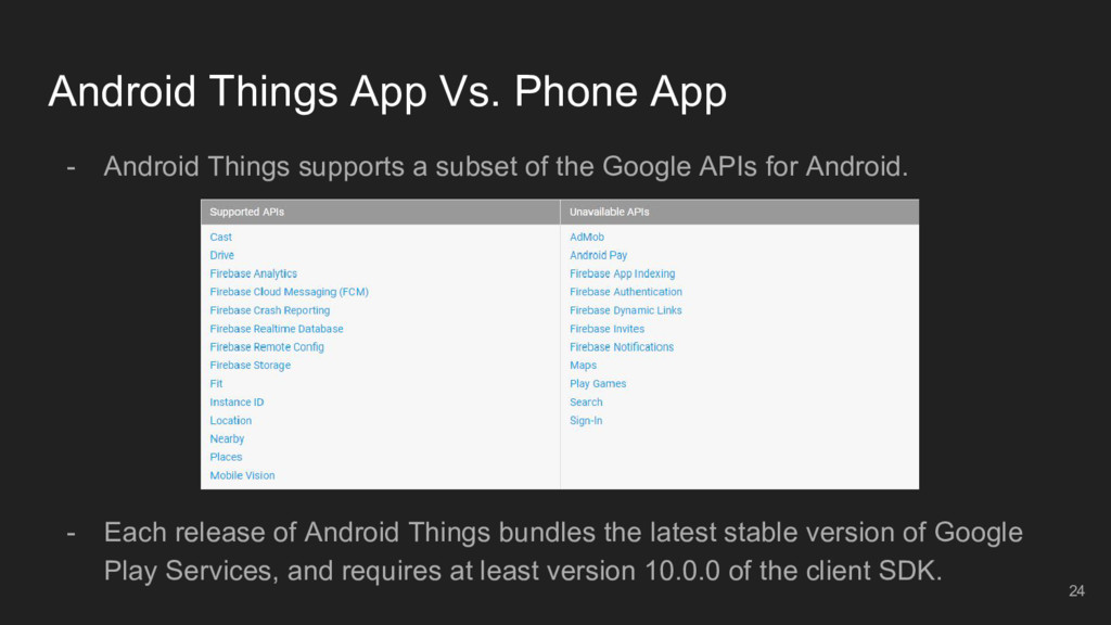 Android Things App Vs. Phone App - Android Thin...