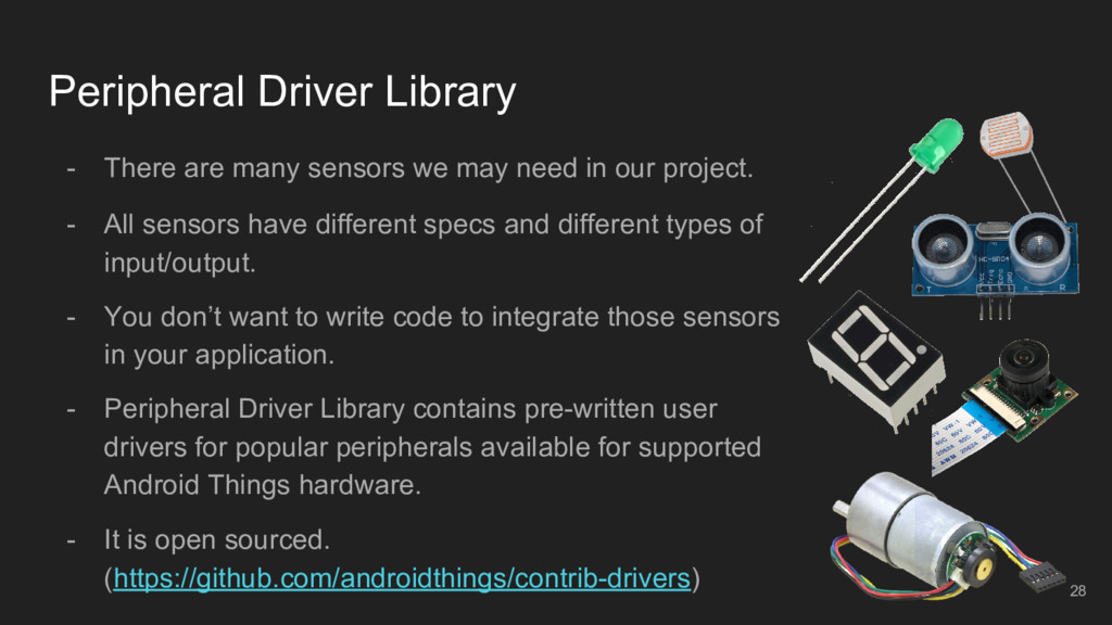 Peripheral Driver Library - There are many sens...