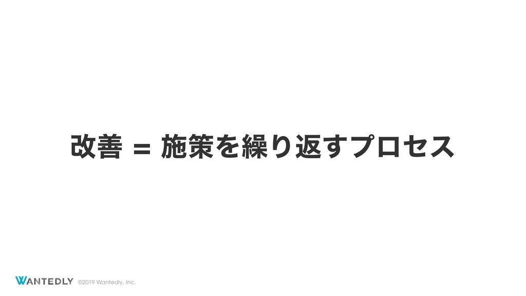 ©2019 Wantedly, Inc. վળࢪࡦΛ܁Γฦ͢ϓϩηε