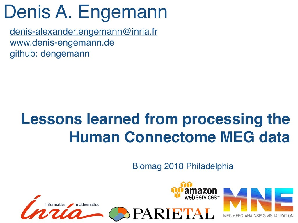Lessons learned from processing the Human Conne...