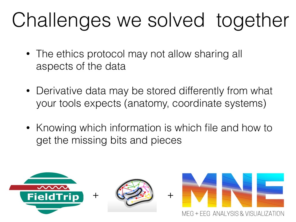Challenges we solved together • The ethics prot...
