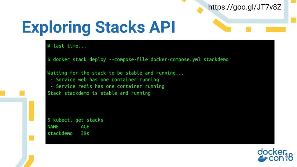 Exploring Stacks API https://goo.gl/JT7v8Z № la...