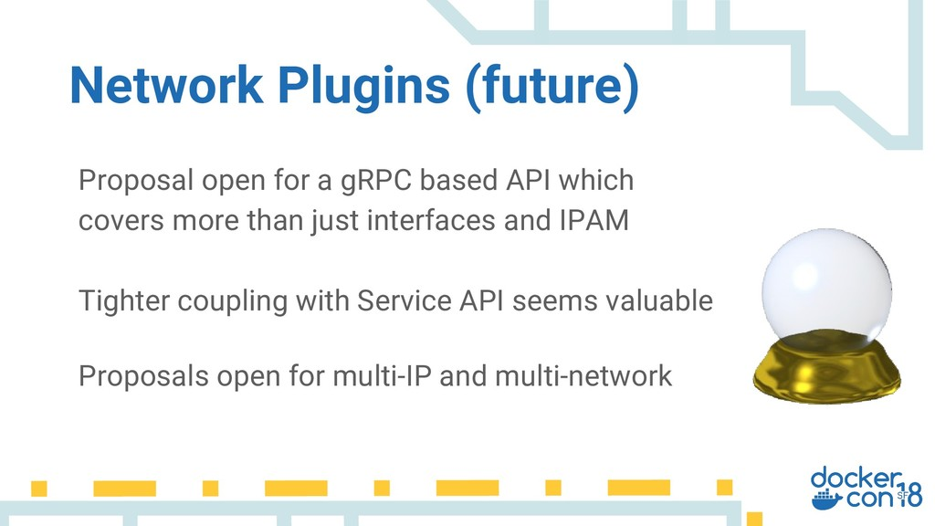 Proposal open for a gRPC based API which covers...