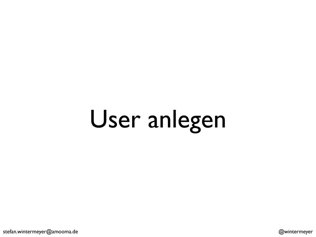 stefan.wintermeyer@amooma.de @wintermeyer User ...