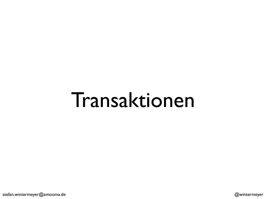 stefan.wintermeyer@amooma.de @wintermeyer Trans...
