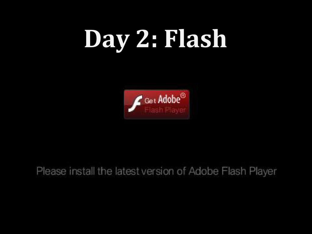 Day 2: Flash
