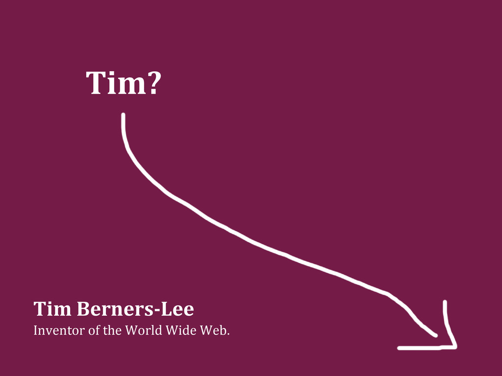 Tim? Tim Berners-Lee Inventor of the World Wide...