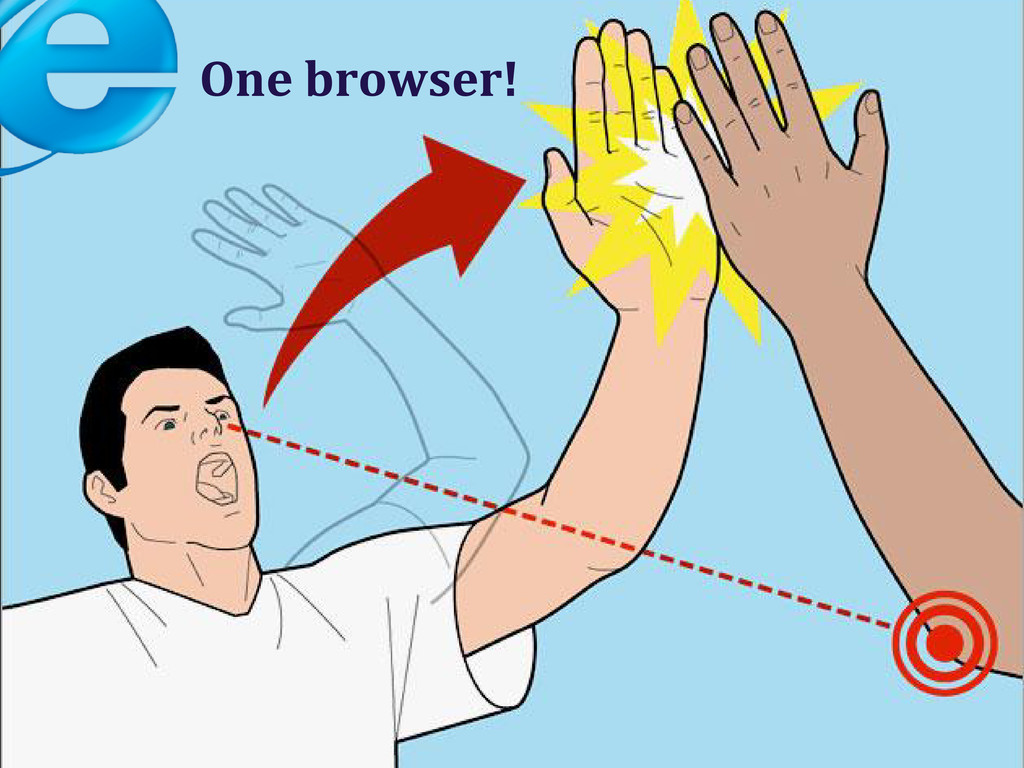 One browser!