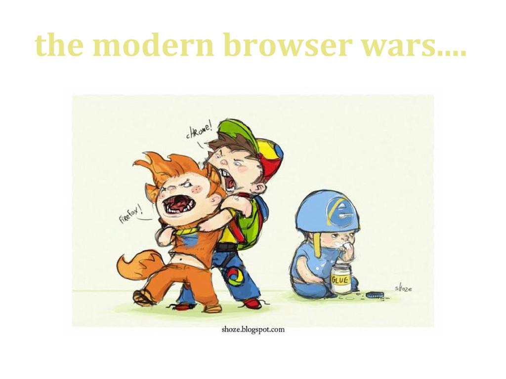 the modern browser wars....