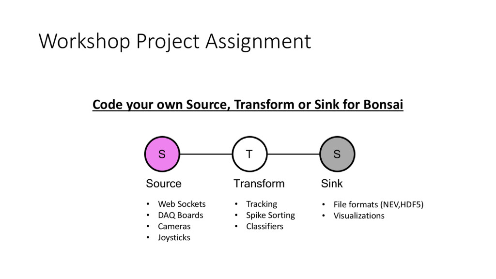 Workshop Project Assignment Code your own Sourc...