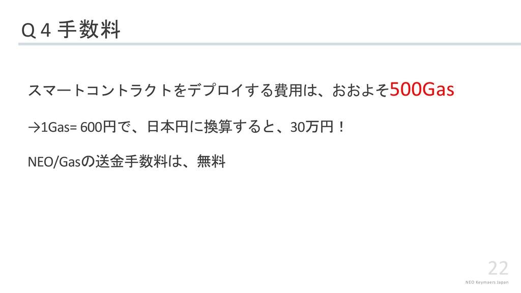 NEO Keymaers Japan 22 Q 4  ...