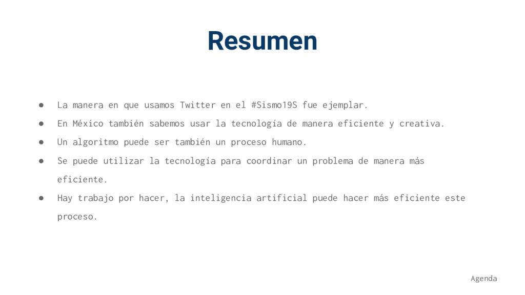 Resumen ● La manera en que usamos Twitter en el...