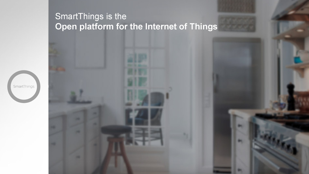 SmartThings is the Open platform for the Intern...