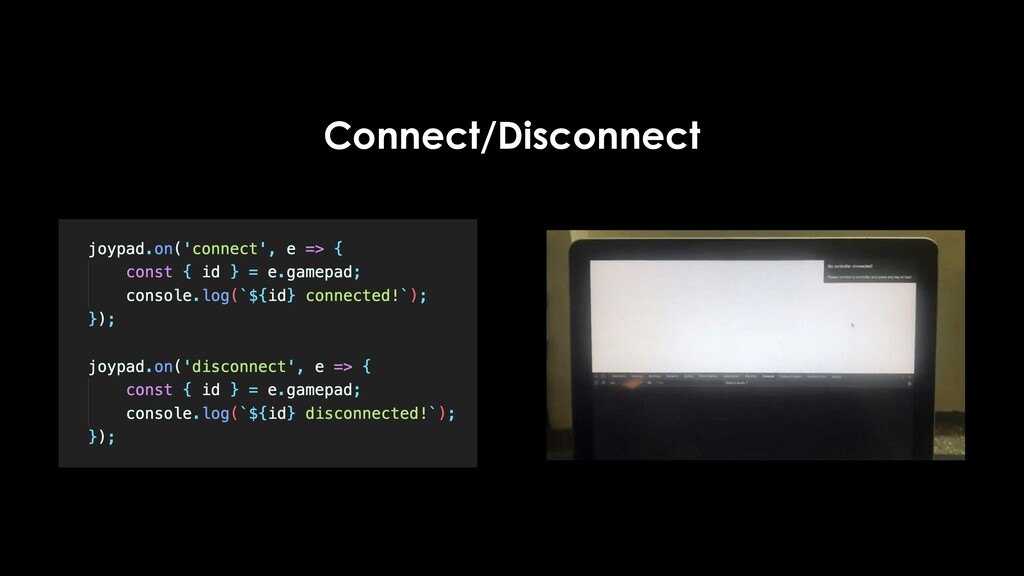 Connect/Disconnect