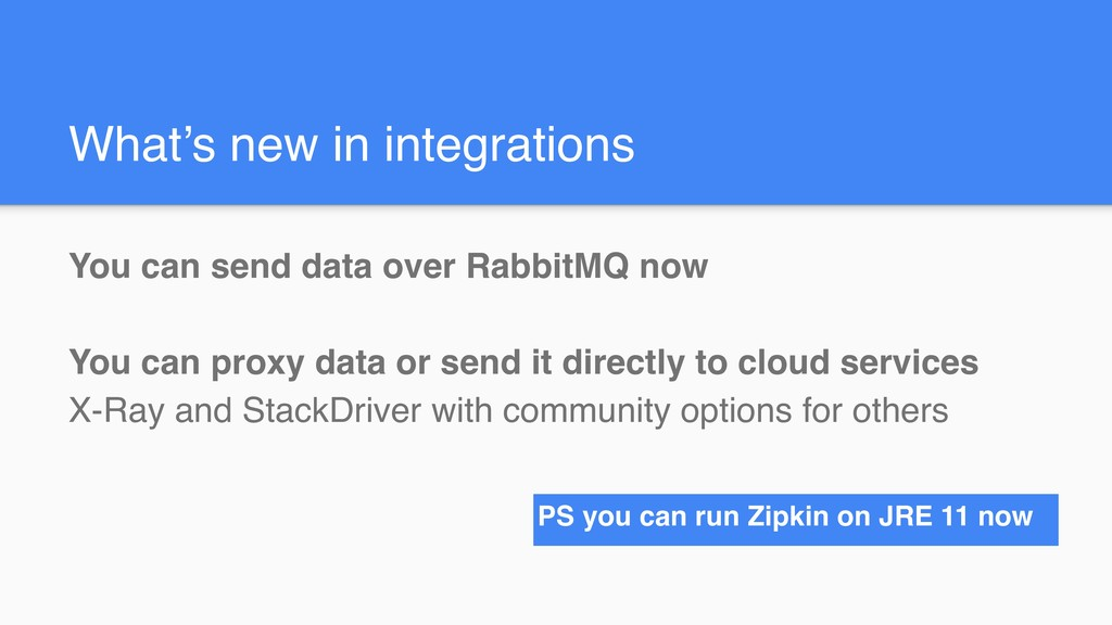 What's new in integrations You can send data ov...