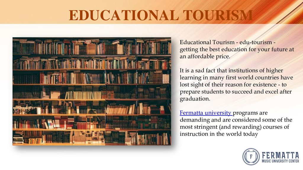 EDUCATIONAL TOURISM Educational Tourism - edu-t...