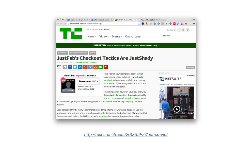 http://techcrunch.com/2013/09/27/not-so-vip/