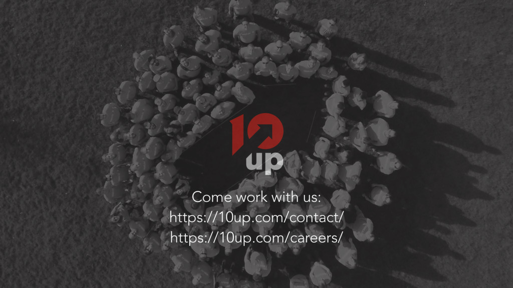Come work with us: https://10up.com/contact/ ht...