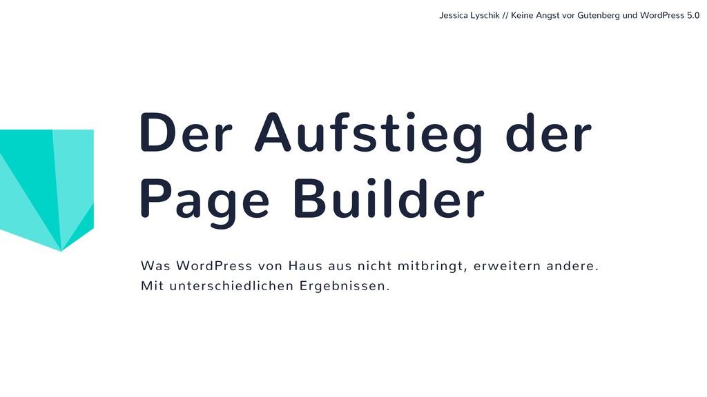 Was WordPress von Haus aus nicht mitbringt, erw...