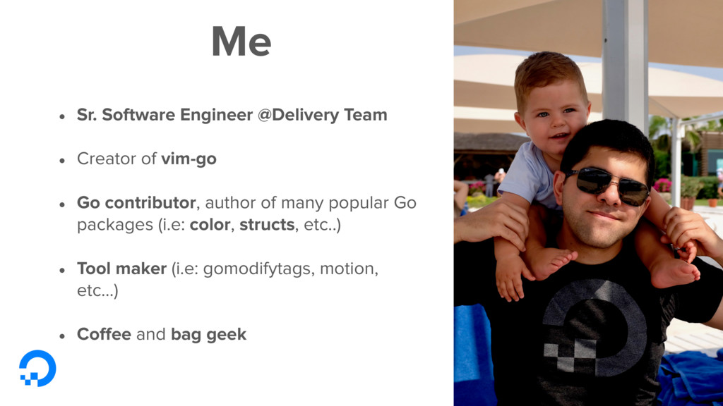 Me • Sr. Software Engineer @Delivery Team • Cre...
