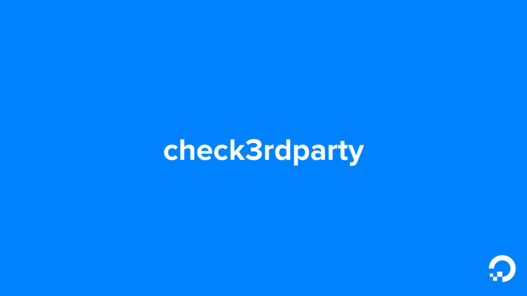 check3rdparty