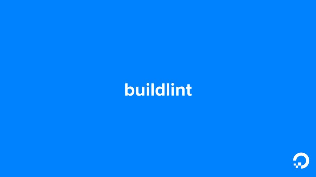 buildlint