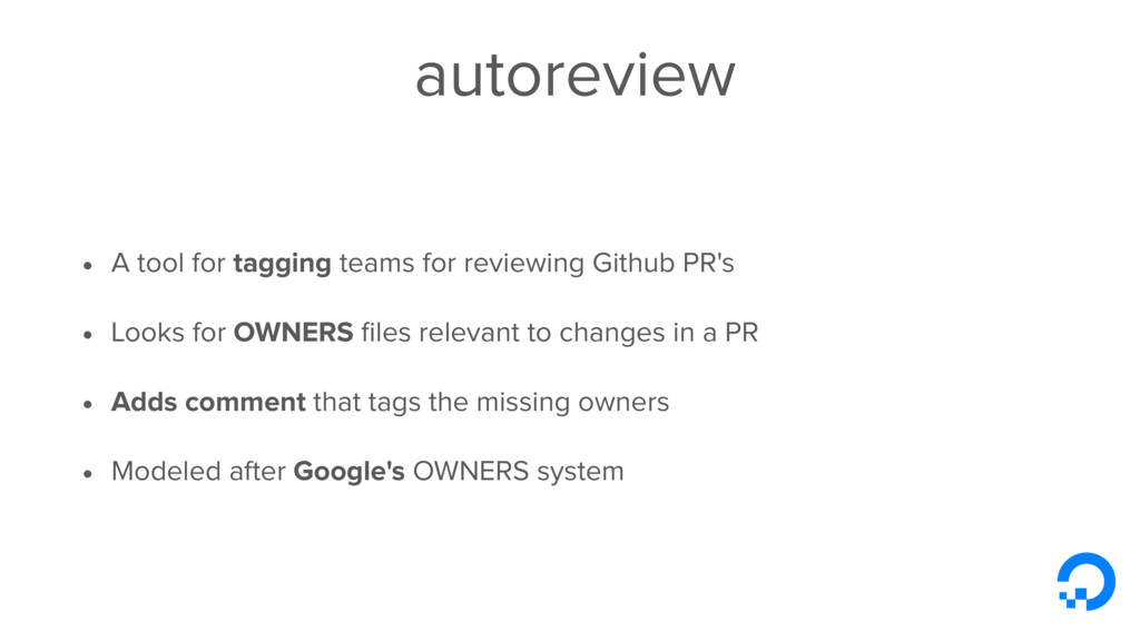 autoreview • A tool for tagging teams for revie...