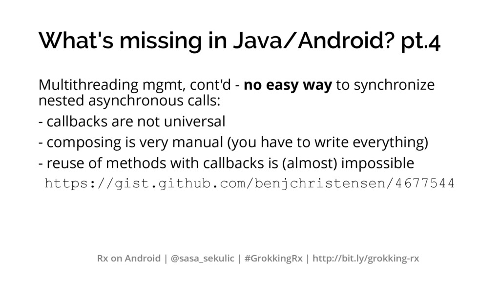 What's missing in Java/Android? pt.4 Multithrea...