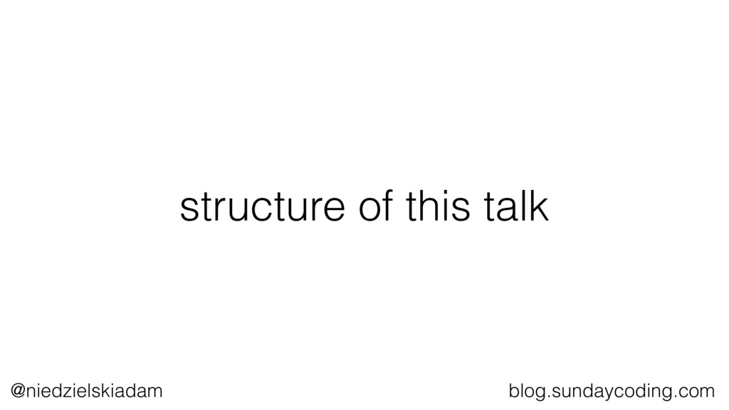 @niedzielskiadam blog.sundaycoding.com structur...