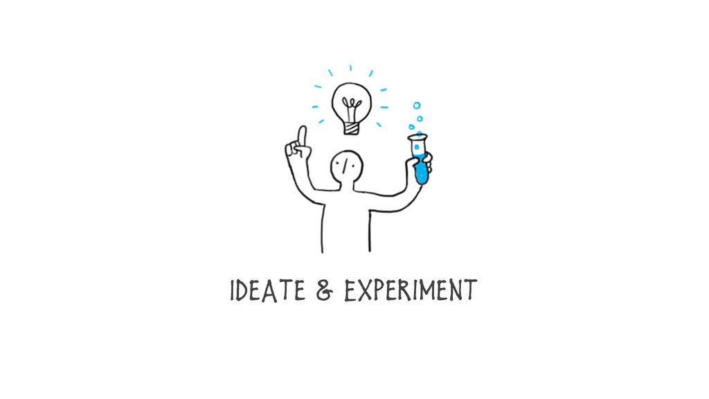 Ideate & Experiment