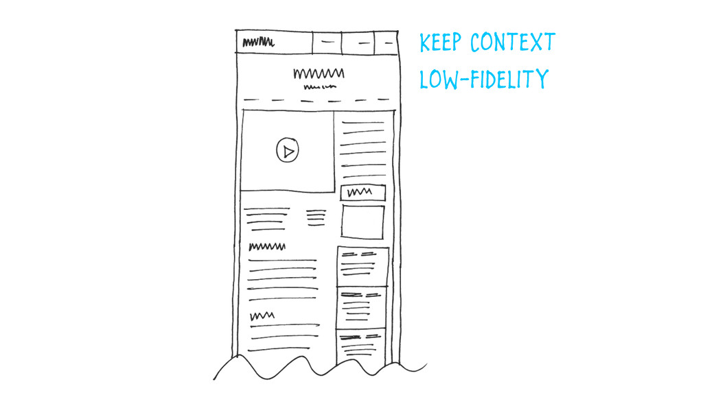 Keep Context  low-Fidelity