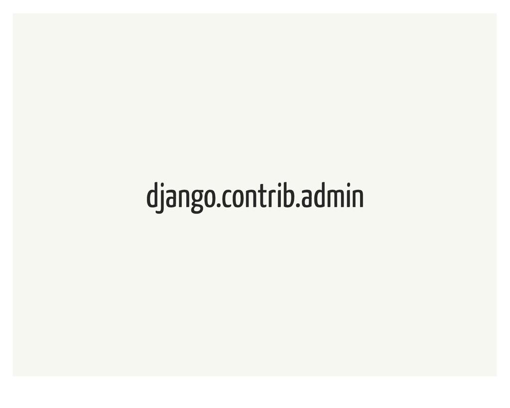 django.contrib.admin