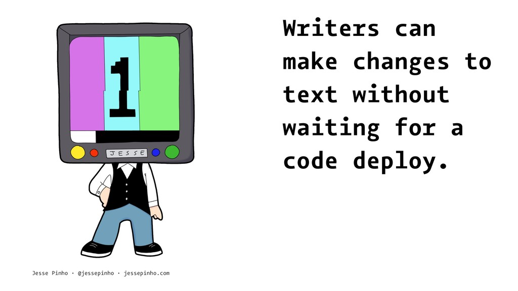 Writers can make changes to text without waitin...