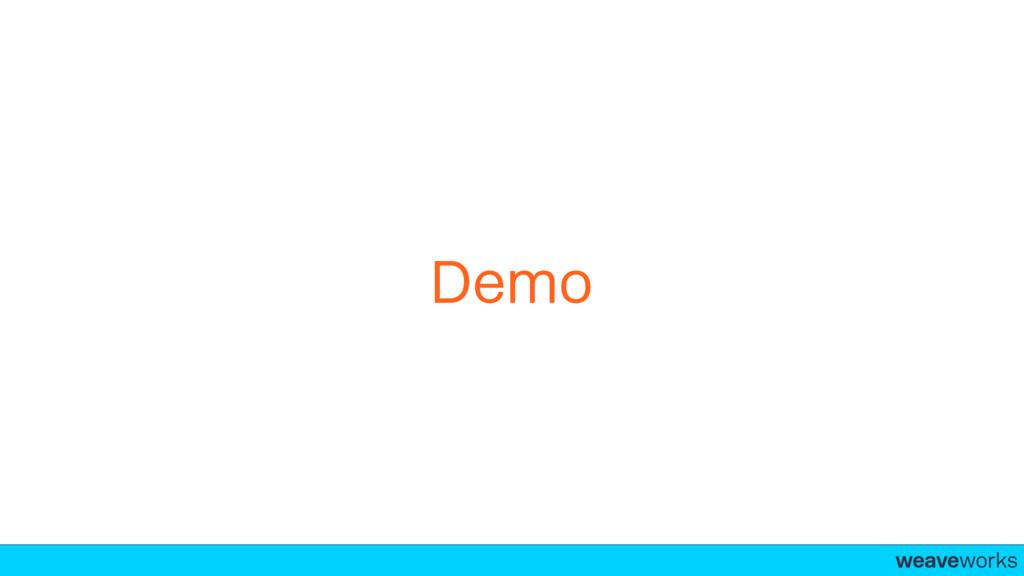 weaveworks- Demo