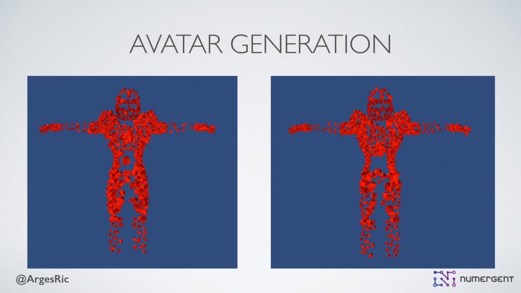 @ArgesRic AVATAR GENERATION