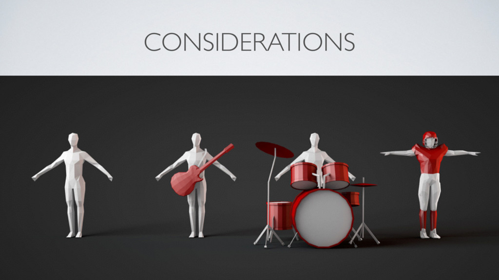 @ArgesRic CONSIDERATIONS