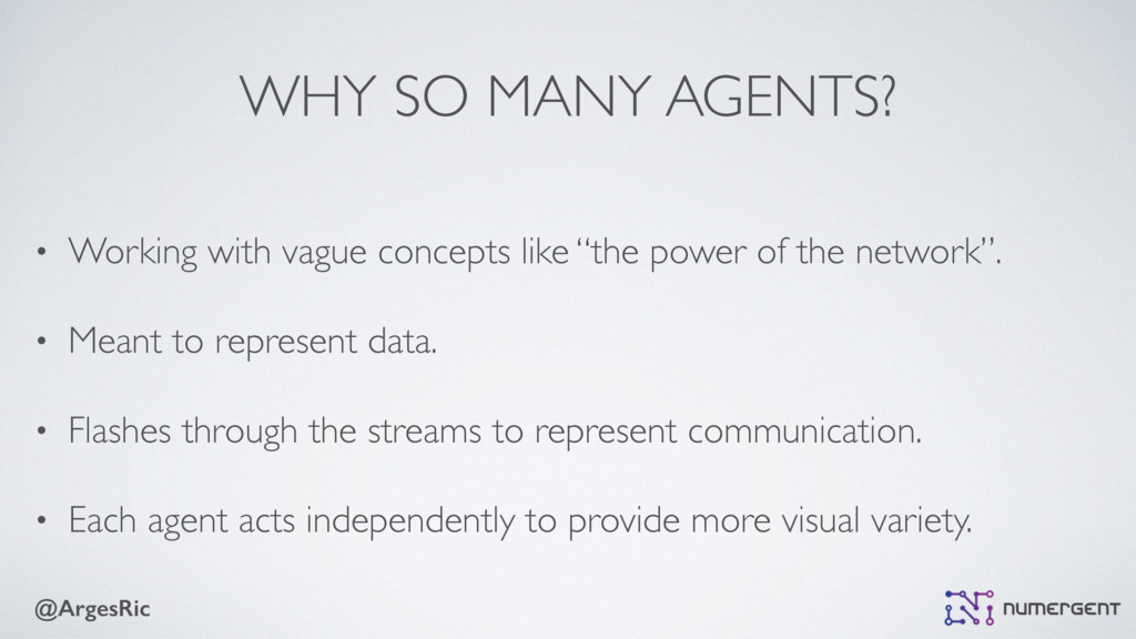 @ArgesRic WHY SO MANY AGENTS? • Working with va...
