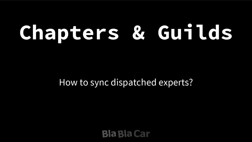 Chapters & Guilds How to sync dispatched expert...
