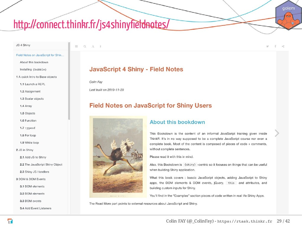http://connect.thinkr.fr/js4shinyfieldnotes/ Col...