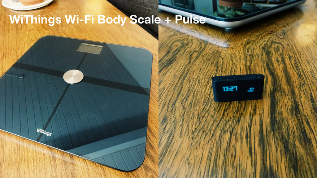 WiThings Wi-Fi Body Scale + Pulse