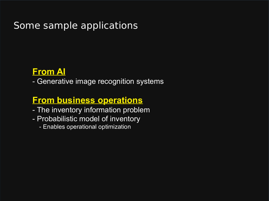 Some sample applications From AI - Generative i...