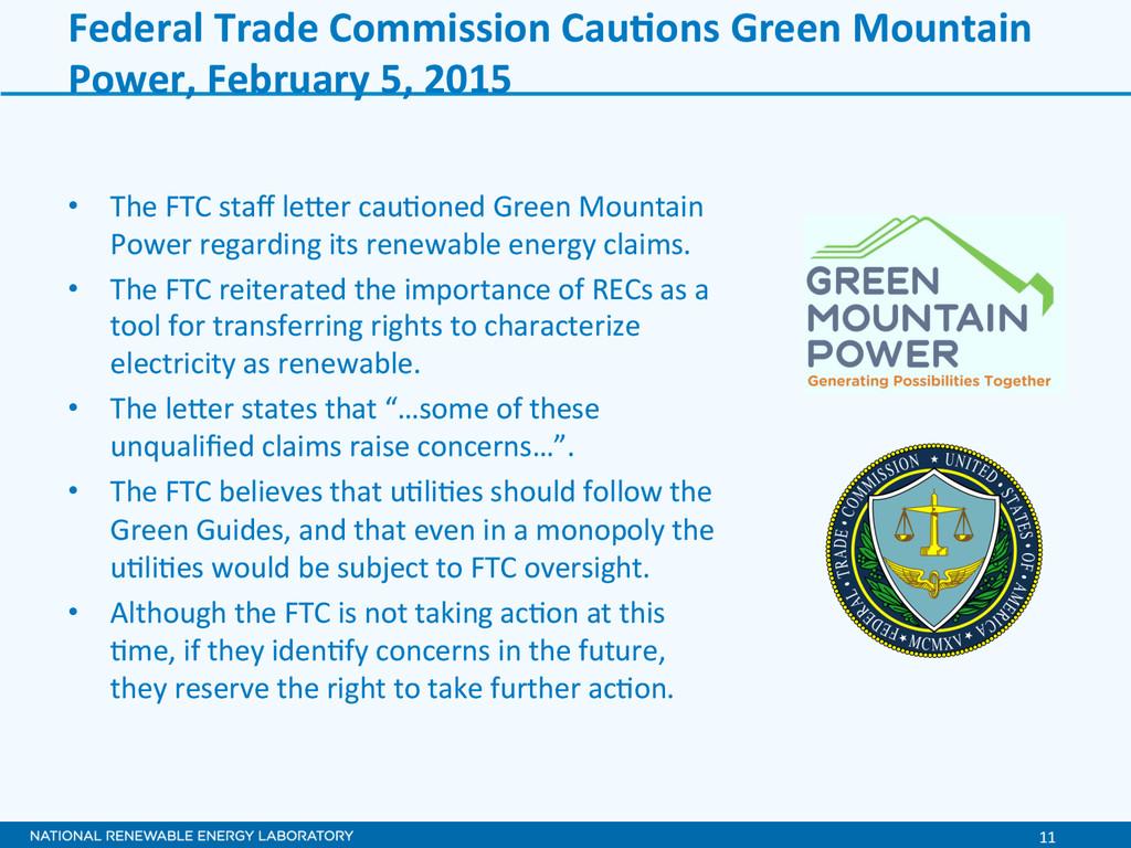 11  Federal Trade Commission CauXon...