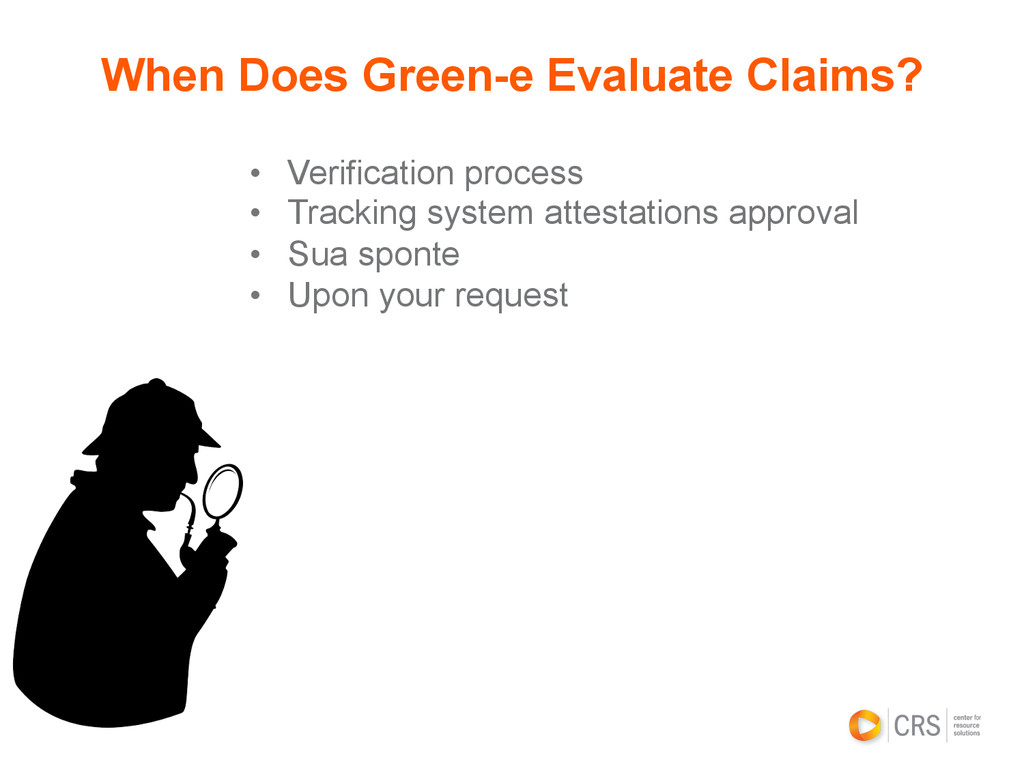 • Verification process • Tracking system atte...